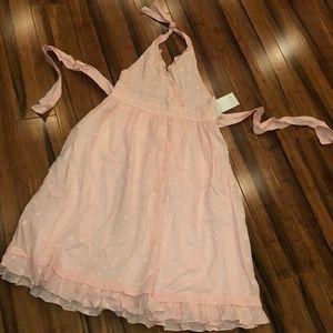Orient express halter dress